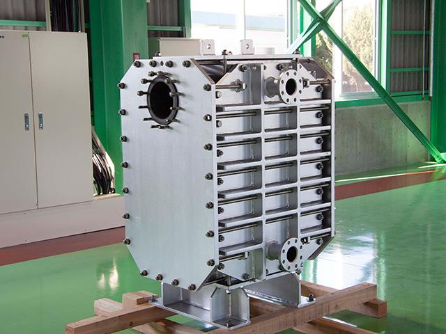 ブロック式熱交換器