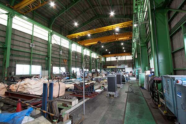 第二組立工場 内観